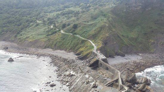 San Juan de Gaztelugatxe: Desde la cima