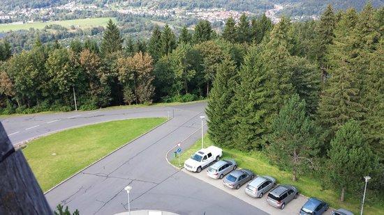 Hotel Ringberg: Uitzicht vanaf 6e verdieping