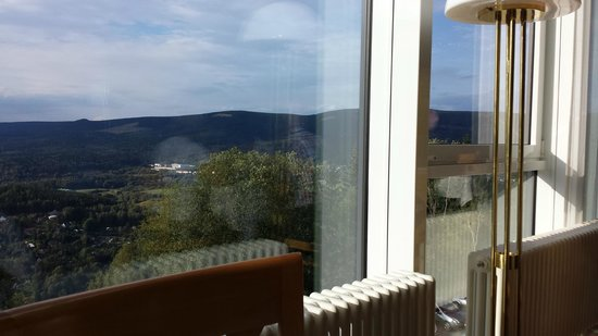 Hotel Ringberg: Uitzicht vanuit restaurant