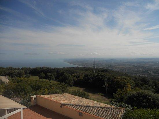 Hotel Monteconero: Panorama dalla terrazza