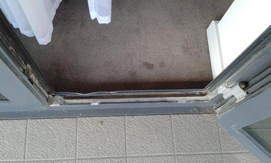 DoubleTree by Hilton Lincoln: Patio Door