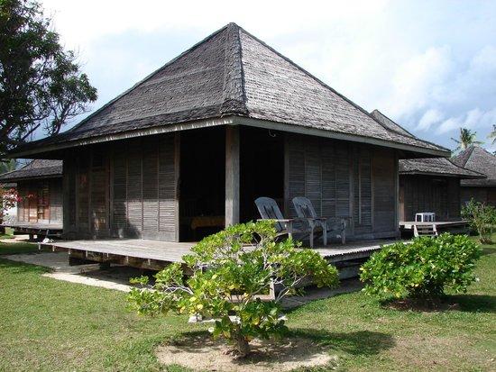 Hotel Matira : Vue extérieure du bungalow