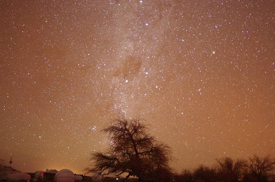 Tierra Atacama Hotel & Spa : Ceu do Atacama durante Star Tour