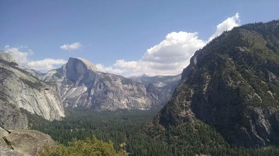 Half Dome Village : A little exercise is required to capture this view
