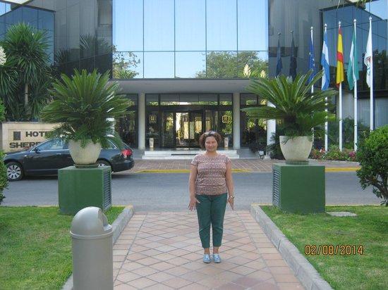 Hipotels Sherry Park: Вход в отель