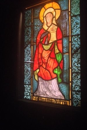 National Museum: Depiction of Mary Magdalene circa 1430