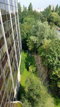 Hilton Strasbourg : Dalla stanza