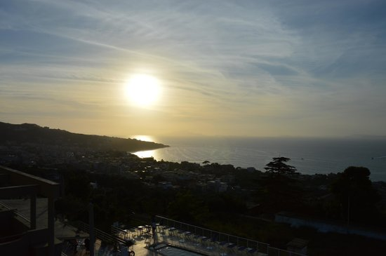Art Hotel Gran Paradiso: Zonsondergang
