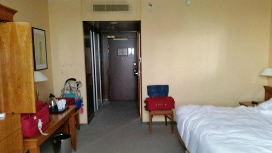 Hilton Strasbourg : Ingresso stanza