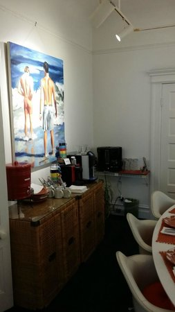 Inn on Castro : Breakfast area