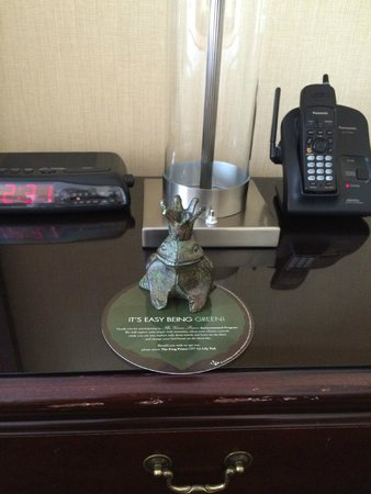 Prince George Hotel: Going green frog