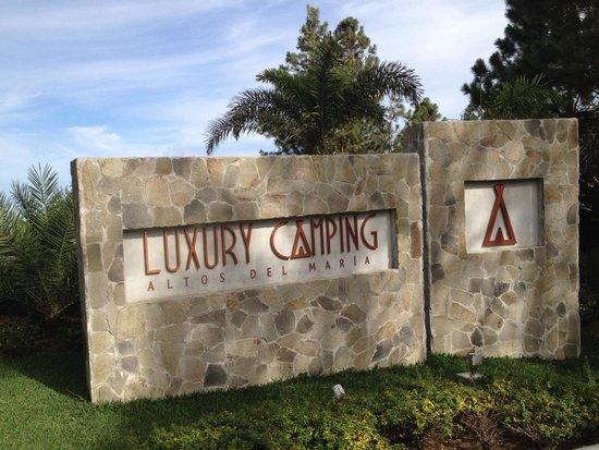 Luxury Camping Panama: Entrada