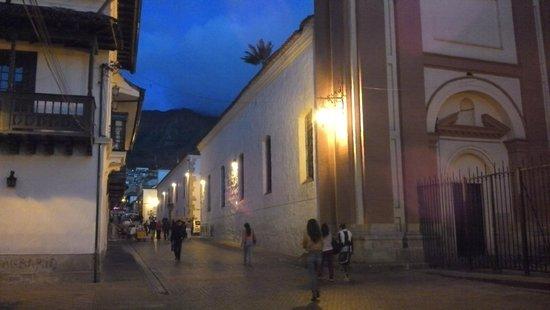 Hotel Tequendama: Centro historico