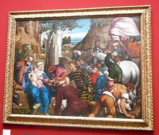 Scottish National Gallery: Adoration of the Kings by Bassano