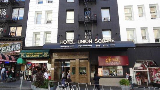 Hotel Union Square: Façade de l'hôtel Union Square