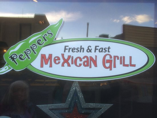 Peppers Mexican Grill: This says it all