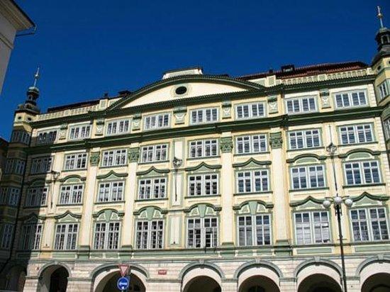 Mala strana: Здания в стиле барокко