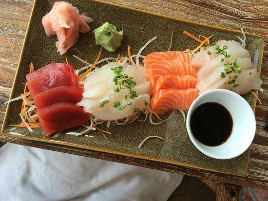KU DE TA: Fresh sashimi