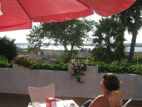 Hotel Santa Maria: Вид с террасы