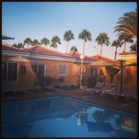 Club Torso Gay Resort: Couché de soleil sur le club