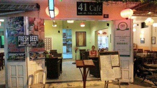 41 Cafe: Dinner at 41