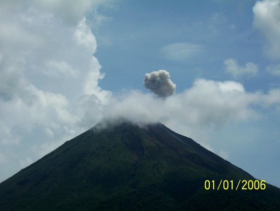 Tabacon Hot Springs : volcan arenal
