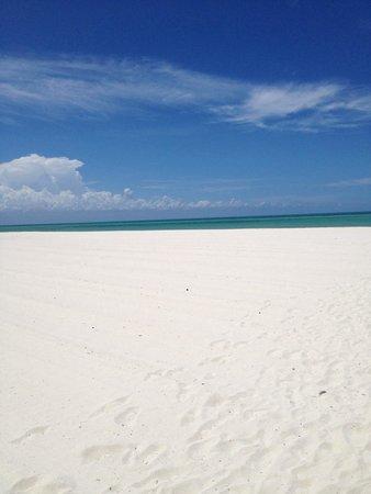 Isla Pasion: La plage