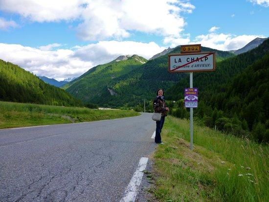 La Ferme de l'Izoard: route superbe