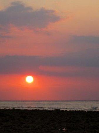 zonsondergang bij Karma Kayak