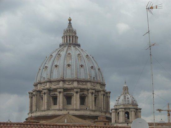 Gregory B&B Vatican: Veduta dal terrazzino