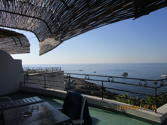 Hotel Aurora: Panorama dal terrazzo