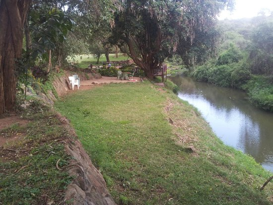 Masai Lodge: River...nice little stream