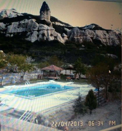 Rock Valley Hostel: Pool view