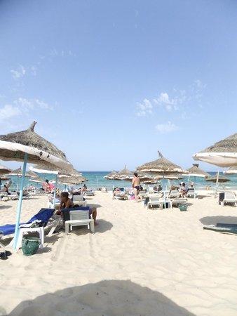 Tej Marhaba Hotel : The hotel's private beach