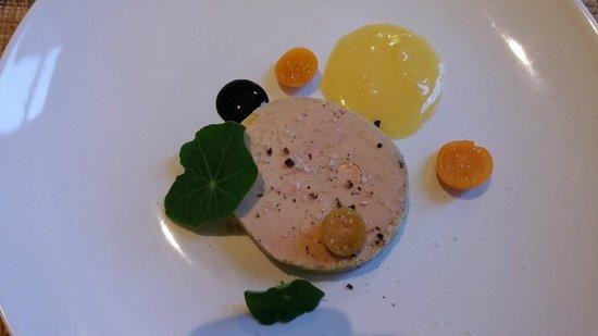 garden-party : Foie gras de canard mi-cuit, crême de citron