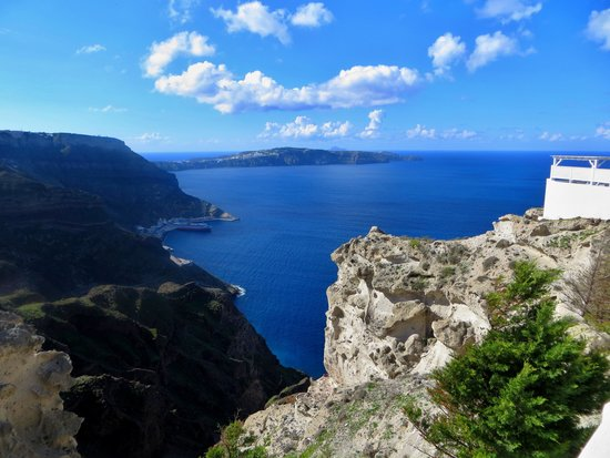Celestia Grand: view from our villa
