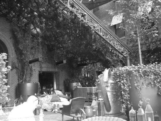 Hudson Hotel New York : Jardin
