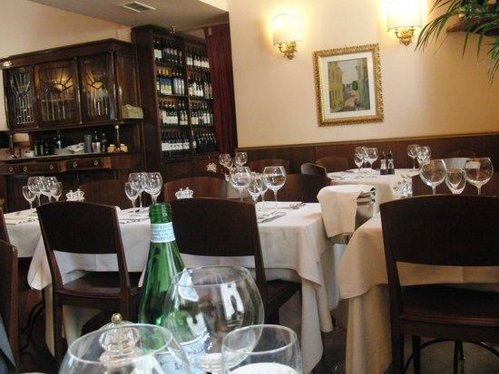 Interior de Il Coriandolo