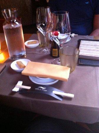 La Perla d'Oro: A tavola