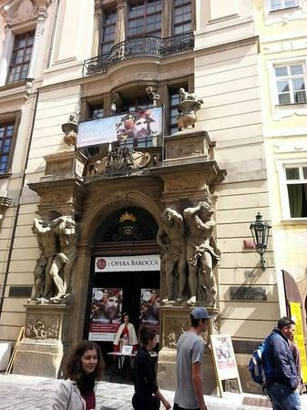 Avantgarde Prague Tours : Façade