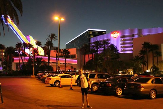 Hard Rock Hotel and Casino Las Vegas: Front view of Hard Rock Hotel