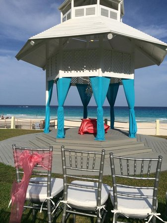 Paradisus Cancun Wedding Gazebo Location