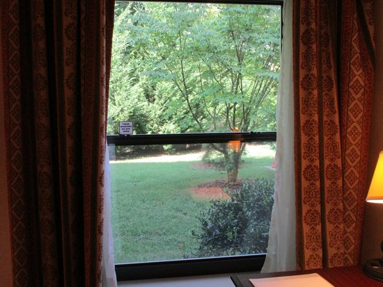 Hampton Inn Marion : View outside the window.