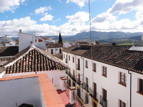 Hostal Virgen del Rocio: バルコニーからの景色