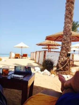 Steigenberger ALDAU Beach Hotel: Beach