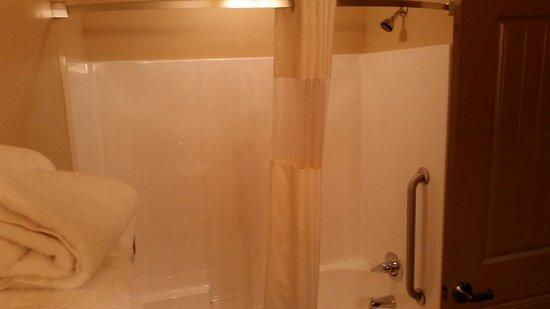 Arbuckle Lodge Gillette: Vasca con doccia