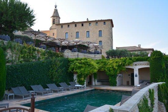Hotel Crillon le Brave : la piscine