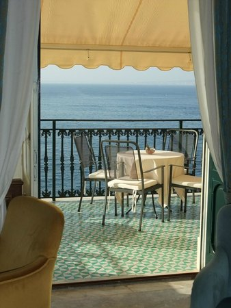 Imperial Hotel Tramontano : Terasse
