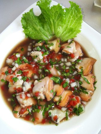 Restaurante Tierra Mar: Cebiche de piangua