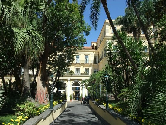 Imperial Hotel Tramontano : Eingangsbereich